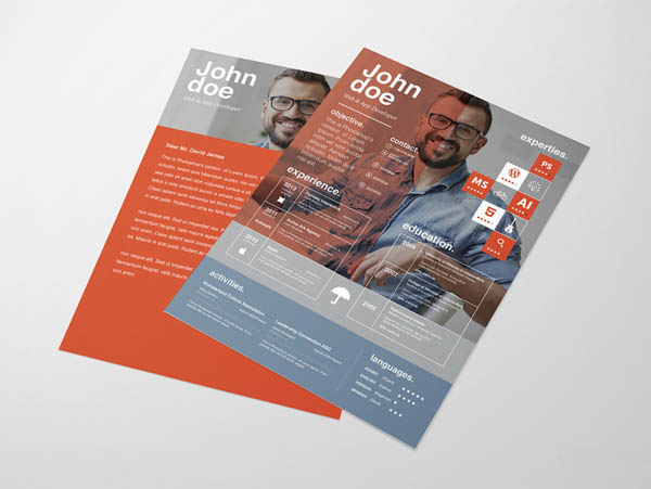 Free Attractive Resume Templates