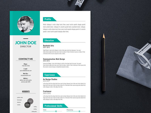 Free Illustrator Resume Templates For Job Seeker