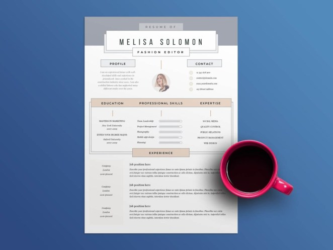 Consider this resume template if you want a clean and professional design. 10 Free Apple Pages Resume Templates To Help You Get Your Next Job Smashfreakz