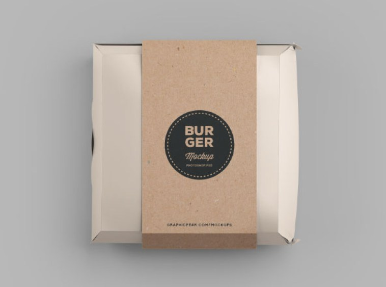Download 10 Free Burger Box Mockup Templates for Packaging ...