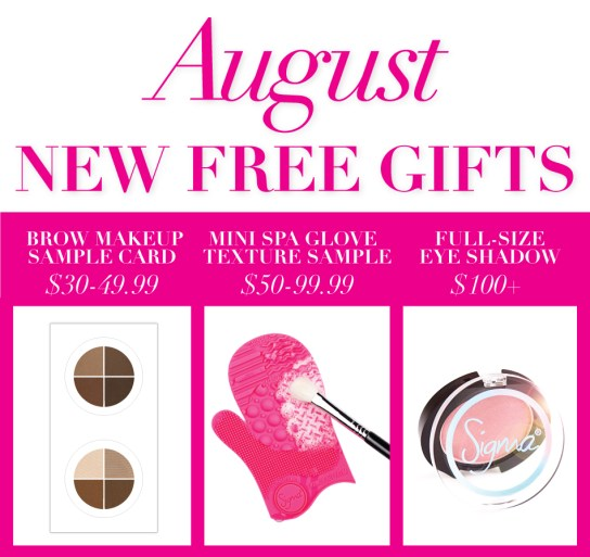 Sigma Beauty Free Gift August 2014 coupon code