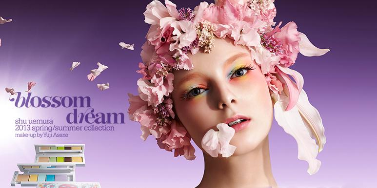 Shu Uemura Blossom Dream Spring  Makeup Collection 2013 smashinbeauty