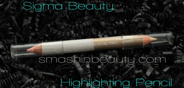 Sigma Beauty Highlighting Pencil review swatches