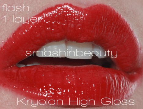 Kryolan High Gloss Catwalk lip shine dupe for lime crime candy apply lipgloss