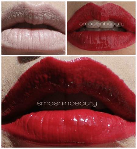 Kryolan High Gloss Lip Shine Catwalk, Toffee, Candy, Beach, Kir, Swatches, Makeup Review
