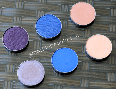 Makeup Geek Eye Shadows Swatches Makeup review makeupgeek