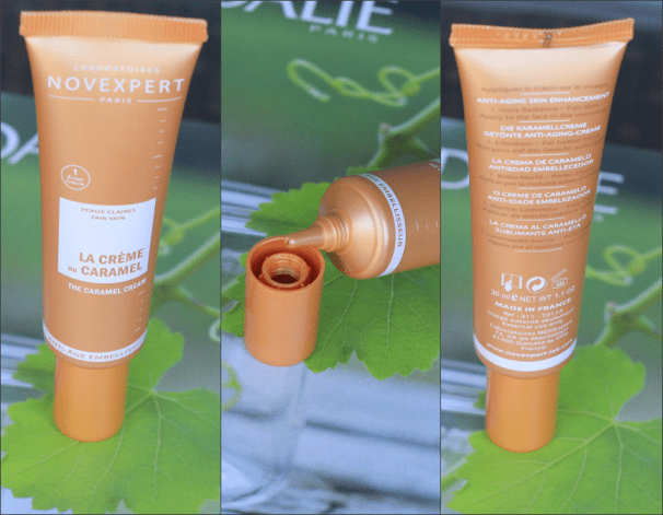 NovExpert La Crème Au Caramel makeup review The Caramel Creme anti-age