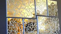 DIY project Mirror Mosaic Art | SMASHINBEAUTY