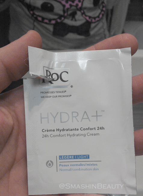 RoC Hydra+ 24h comfort hydrating cream light normal combination skin review