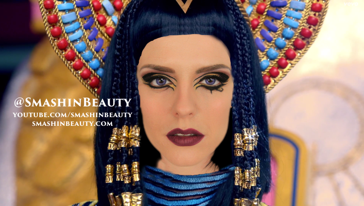Katy Perry Dark Horse music video Makeup Tutorial