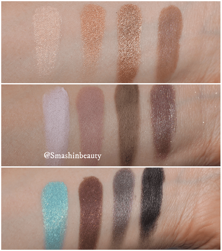 Sigma Beauty Smoke Screen Swatches