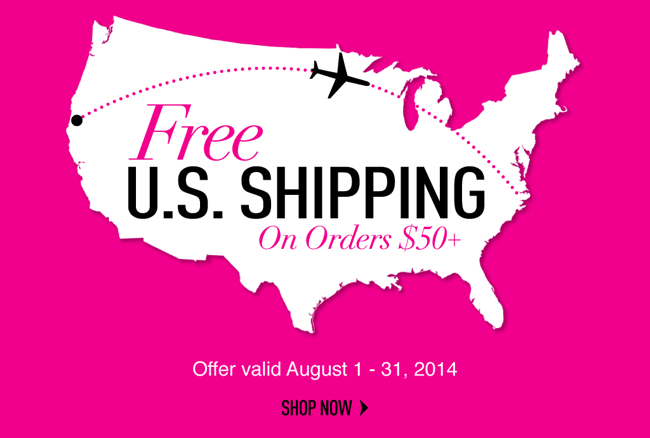 Free-Shipping Sigma Beauty August 2014