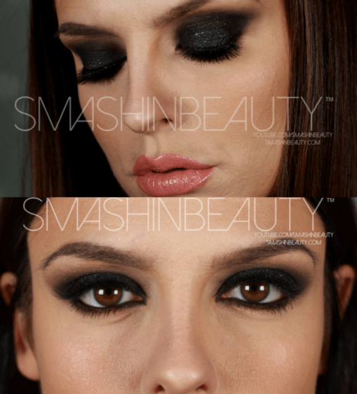 Black Smokey Eye Makeup Tutorial SmashinBeauty