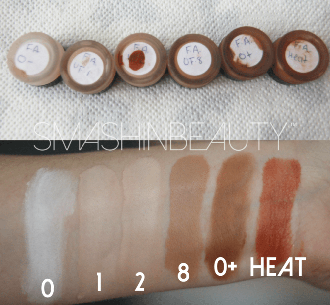 Face Atelier Swatches Makeup Review
