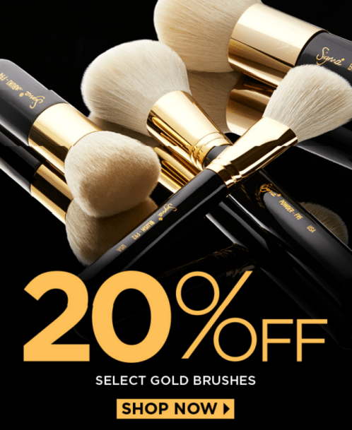 Sigma Beauty 20 off coupon code sale march 2015