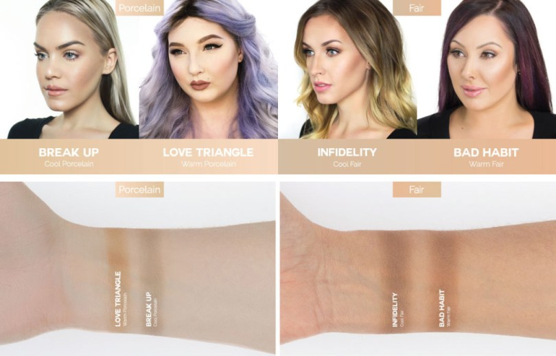 Makeup Geek Swatches Contour Powder