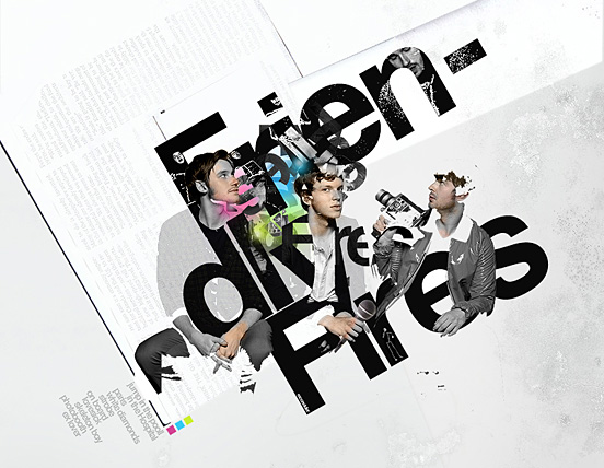 Friendly Fires l Fantastic Examples of Typography