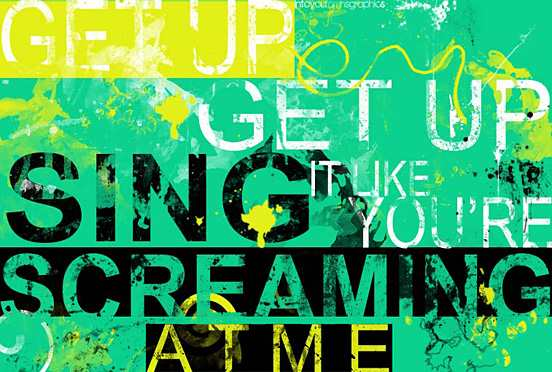 Get Up l Fantastic Examples of Typography