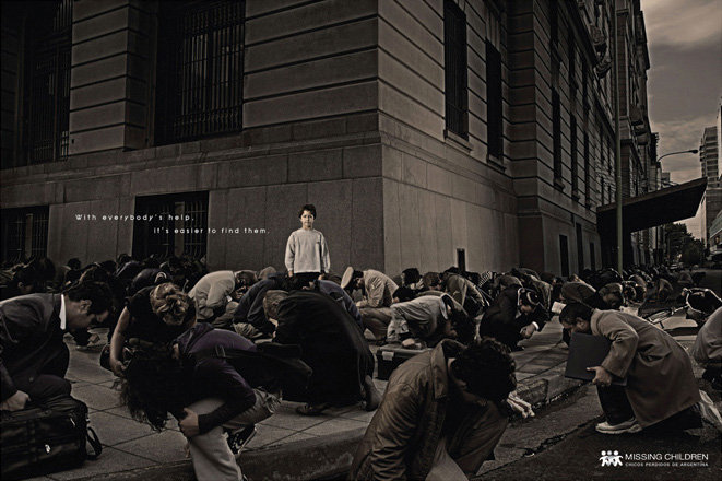 Mission Children 25 Extremely Creative Advertisements That Makes  You Look Twice
