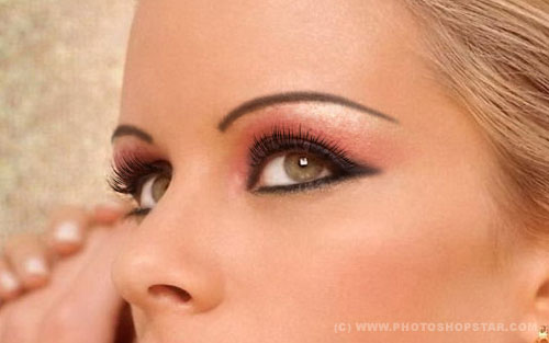 eye makeup 35 Fresh and Useful Photoshop Tutorials