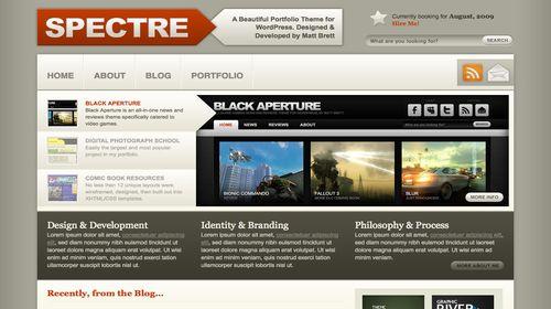 wordpress template 1 Top 20 Most Useful WordPress 3.0 Ready Themes
