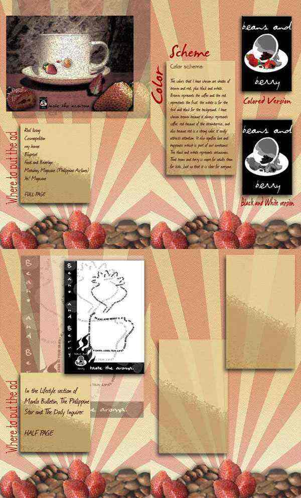 Beans and Berry Brochure