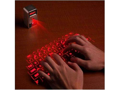 4. Celluon Magic Cube Full-size Laser Projection Keyboard for iPhone and iPad