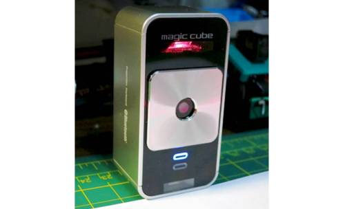 7. Celluon Magic Cube Laser Projection Keyboard and Touchpad