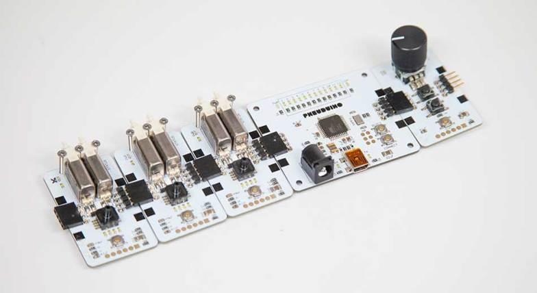 Pneuduino pneumatic control system