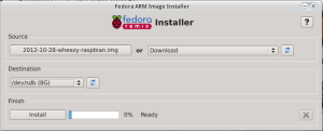 Fedora Arm Installer