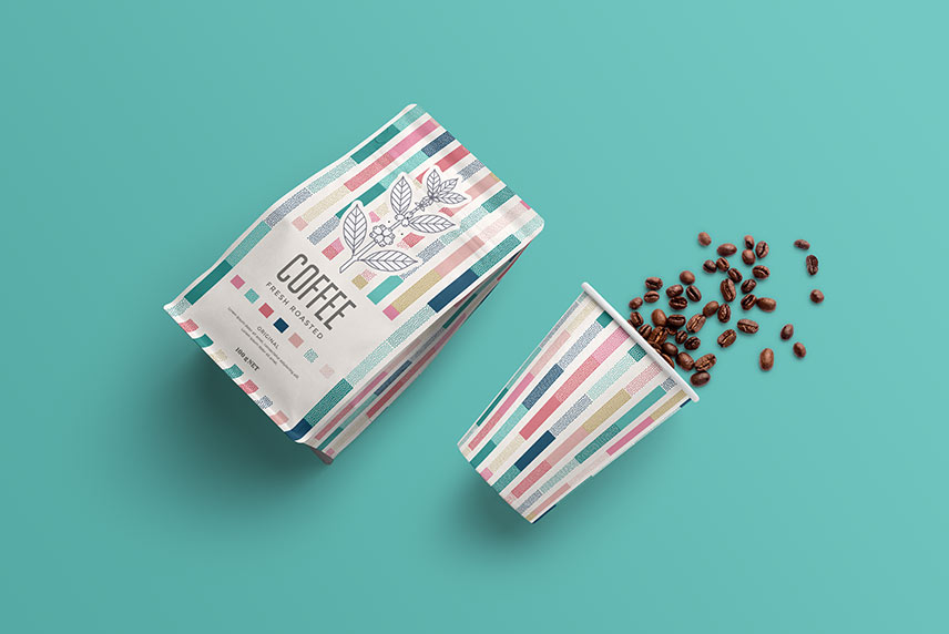 Download Coffee Packaging Mockup - Free Download