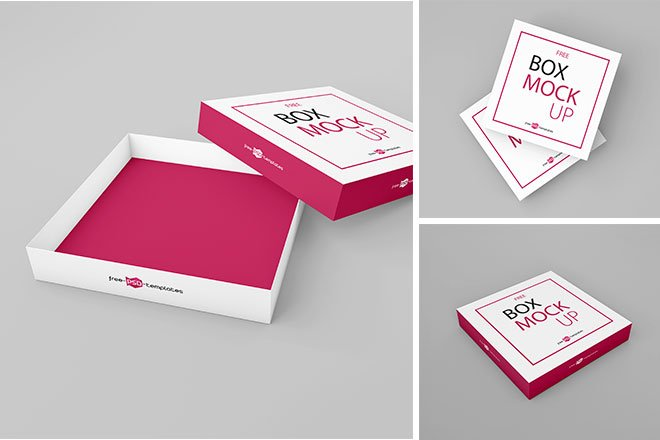 Download Packaging Box Mockup Set - Free Download