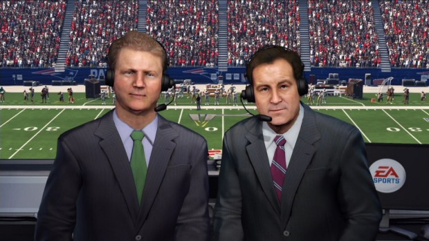 CBS A-Team Jim Nantz and Phil Simms are back for a third year of Madden commentary with hardly anything new to say, making a good game look bad.