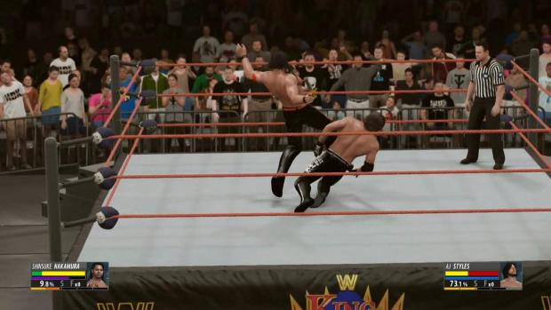WWE 2K16's impressive creative suite and host of brilliant design decisions make for a far broader game than its title would have you believe.