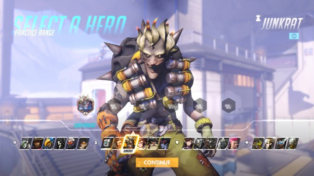You really shouldn't pick favorites, but I can't help it. The insane Junkrat is my guy.