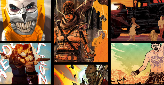 Artists unite for 'shiny and chrome' Fury Road Fan Zine
