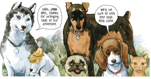 New 'Beasts of Burden' story due this year