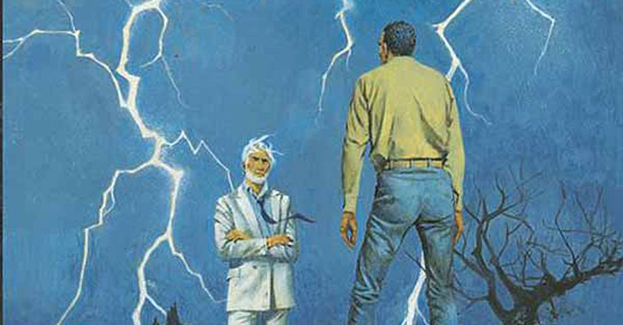 Check out Todd Klein's process for creating a retro 'American Gods' cover