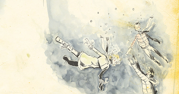 Quoted: Jeff Lemire on his work process, what makes him happy