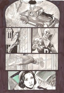 Lan Medina's 'Deadman: Dark Mansion' art