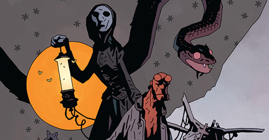 Hellboy sets sail — with ghosts! — in 'Into the Silent Sea'