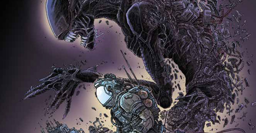 James Stokoe is doing an 'Aliens' comic