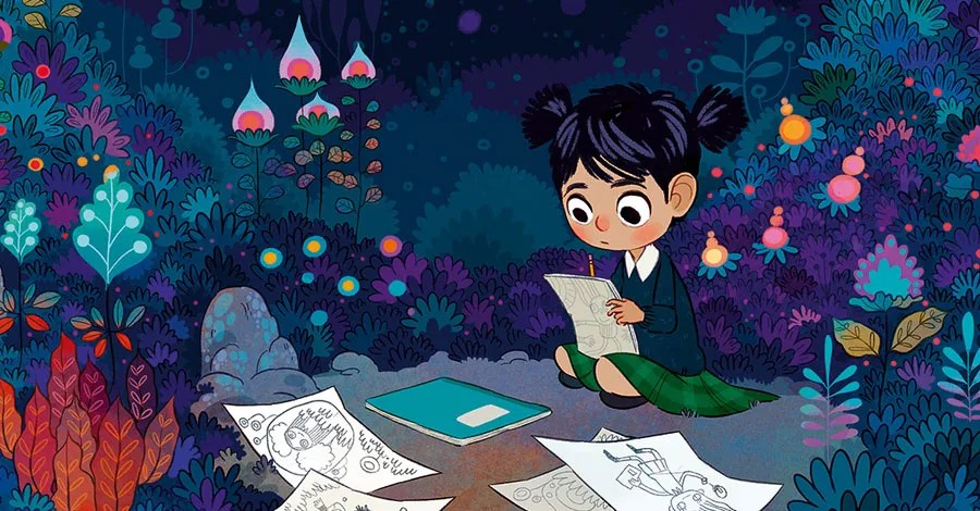 Lorena Alvarez's stunning artwork highlights 'Nightlights' graphic novel