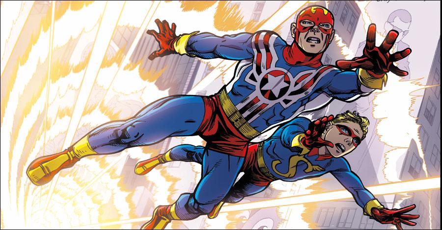 Kirby and Simon's 'Fighting American' returns from Titan Comics