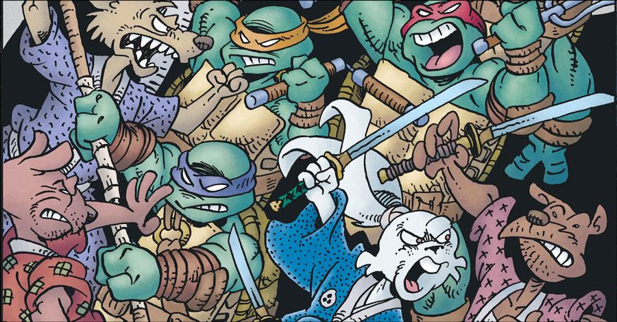 Usagi Yojimbo meets the Teenage Mutant Ninja Turtles again this summer