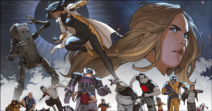 Faith teams with just about everyone in 'Faith and the Future Force' #1