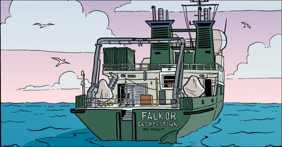 'Adventure cartoonist' Lucy Bellwood helps map the ocean floor