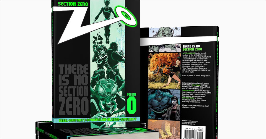 Kesel and Grummett's 'Section Zero' returns via Kickstarter