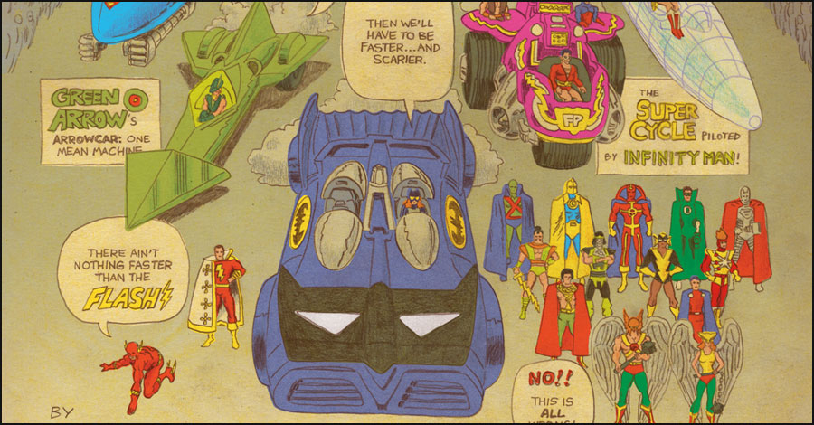 Read Tom Scioli's 'director's commentary' for his 'Super Powers' stories