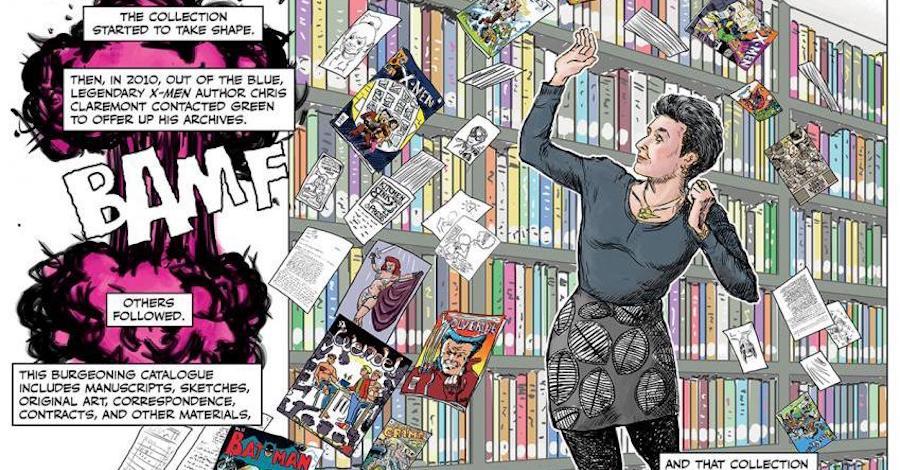 Sunday Comics: Health insurance and curating comics